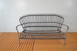 Мебель горячего PE синтетическая сотка алюминиевая Wicker напольная