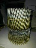 Clavo común galvanizado electro clasificado del material para techos de la bobina