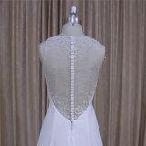 Шифоновое дешевое Bridal платье от изготовления