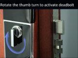 O fechamento o mais novo da porta deslizante de leitor de cartão de NFC para o apartamento