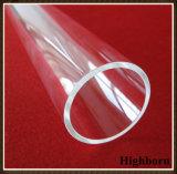 Conduttura di lucidatura trasparente di vetro di quarzo del silicone fuso
