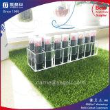 Présentoir acrylique clair de rouge à lievres de qualité