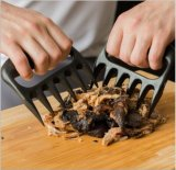 연기가 나는 방열 바베큐를 위한 튼튼한 당겨진 돼지 슈레더 곰 클로 발 BBQ 고기 다루개 새기는 포크 공구를 굽기