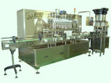 피스톤 Type Filling (GHALF-8)를 가진 자동적인 Bottle Shampoo Filling Machine
