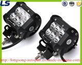 18W de 4 LEIDENE van de Duim Mini Lichte Koplamp van de Staaf voor 4X4 Auto