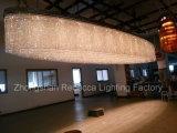 Lámpara cristalina del techo para el hotel con el LED