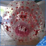 Bola inflable de Zorb de la carrocería del balompié material de TPU o del PVC para la venta