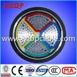 алюминиевый кабель 4X120mm PVC кабеля 1kv с сертификатом CE