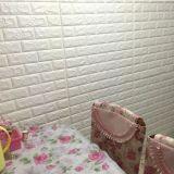 Tipo de pedra papel de parede macio do tijolo da espuma 3D