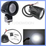 도로 4X4 (CK-WC0110R) 떨어져를 위한 10W 크리 사람 LED 차 안개 헤드 일 빛 IP67 6500k 플러드 또는 반점 800lm