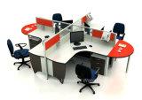 Кабины 4 Seater офиса рабочей станции низкой цены самомоднейшие (HF-YZ051)