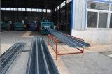 電流を通されたBondekの構造スチールの床シート