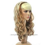 Parrucca mezza dello Synthetic della testa 1/2 di vendita di Cosplay della parrucca calda di modo