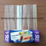 Мешки LDPE Ziploc пластичного материала