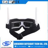 Lunettes de Fpv Sky02s tout dans les lunettes visuelles d'un Fpv 5.8GHz 40CH avec DVR, entrée de HDMI