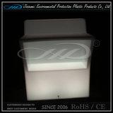 Mobiliário de mesa de barra de mudança de cor de plástico