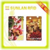 Cartão de identificação inteligente Sunlanrfid com aprovação ISO (amostra grátis)