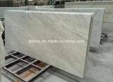 Nova laje de mármore branco de neve, azulejo e mármore para decoração