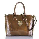 Handbag浮彫りにされた花のショルダー・バッグのファッション・デザイナーのパテントの女性の女性