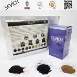 Fibras maiorias do engrossamento do cabelo de Pakcs do reenchimento de Sevich das fibras do edifício do cabelo do saco do reenchimento do preço 25g/50g/100g/1000g