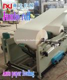 Fábrica de máquina gravada automática cheia do papel do tecido facial de Kleenex