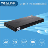 4k 1 in 8 fuori divisore di 1X8 HDMI
