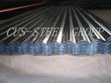 Panneau de toit en galvanisation de toit d'eau / panneau de toit métallique ondulé