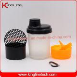 пластичная франтовская бутылка трасучки 400ml с Pillbox в контейнере (KL-7003)