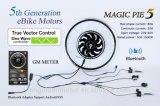 Bluetooth programmable ! Kit électrique d'or de bicyclette de la magie Pie5 de moteur, moteur d'Ebike avec l'affichage disponible pour pour l'androïde/IOS