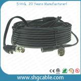 Koaxialkabel Rg59 mit Powe Draht mit BNC Gleichstrom-Verbindern