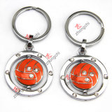 Olympic Games Souvier (ZC-KRS01-05)のための金属Football Basketball Soccor Keychain
