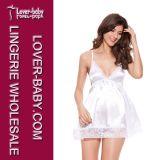 Grosse vente en gros de femme plus le Babydoll de lingerie de taille (P2316-4)