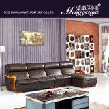 Sofa de cuir de fonction de massage (908#)