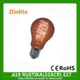 Электрическая лампочка изготовления A19 15ACR Китая раскаленная добела
