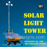 Sonnenenergie-Zubehör-Aufbau-beweglicher heller Aufsatz der Garantie-2years
