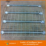 Decking ячеистой сети хранения пакгауза Aceally, гальванизированный размер палубы металла