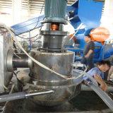 PE dos PP que recicl a linha da peletização do plástico