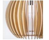 Lumière linéaire en bois de pendant de plafond de DEL