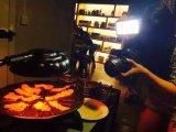 Gril d'intérieur sans fumée de BBQ de l'infrarouge 2016 (ZJLY)