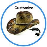 Sombrero de paja de encargo del vaquero