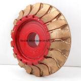 Поделенное на сегменты диамантом колесо профиля филируя для гранита и мрамора