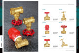 MessingStopp Valve mit Brass Handle Sv-1030