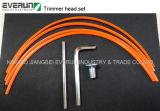 Cabeza de nylon de aluminio del condensador de ajuste del cortador de cepillo de la hierba