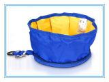 Портативный перемещая тип шар пользы складывая собаки еды любимчика полиэфира