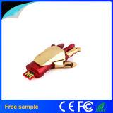 Movimentação do flash do USB da alta qualidade do homem do ferro