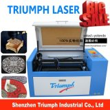 Kleiner 6040 50W CO2 Laser Engraving Machine für Acrylic Fabric Triumph