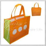 Le sac non tissé pliable, sac à provisions, réutilisent le sac (KG-NB011)