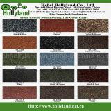 Azulejo de material para techos revestido de piedra coloreado del metal (tipo clásico)