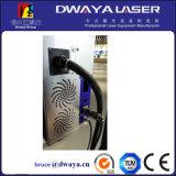 De Laser die van de Vezel van de Vlieg van de Pen van de ring 10W Machine met Pijpleiding merkt