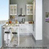 Cozinha do modelo da madeira contínua que cozinha o gabinete para a casa Using